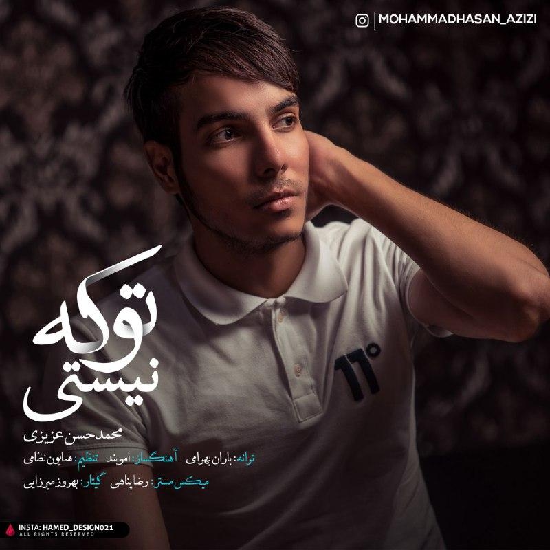 دانلود آهنگ جدید محمد حسن عزیزی بنام تو که نیستی