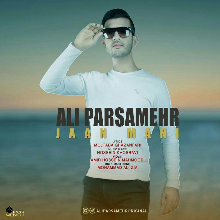 دانلود آهنگ جدید علی پارسامهر بنام جان منی