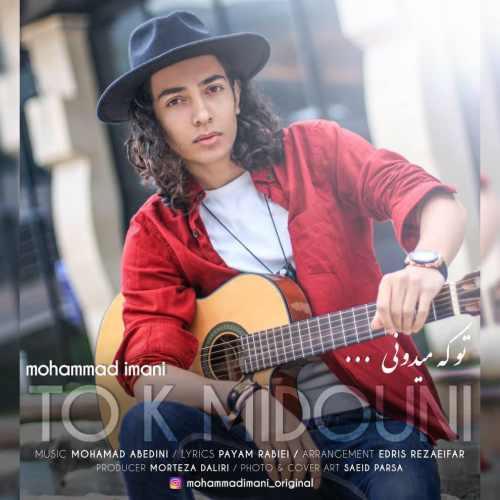 دانلود آهنگ جدید محمد ایمانی بنام تو که میدونی