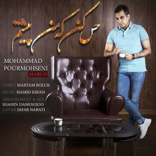 دانلود آهنگ جدید محمد پورمحسنی بنام حس کن که من پیشتم