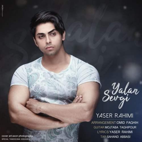 دانلود آهنگ جدید یاسر رحیمی بنام یالان سوگی