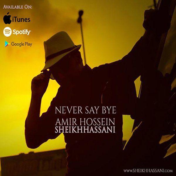 دانلود آهنگ جدید امیرحسین شیخ حسنی بنام Never Say Bye