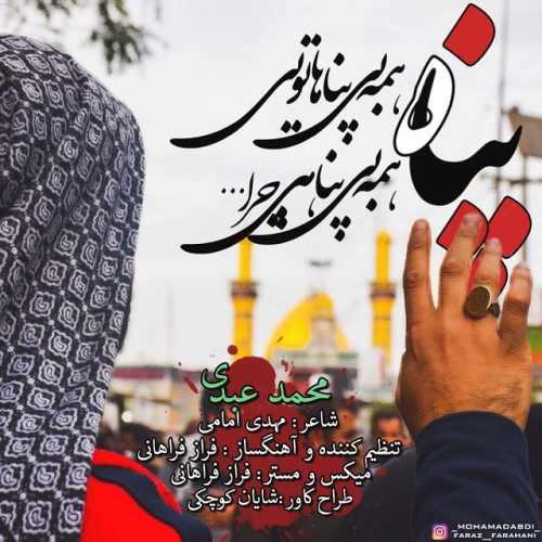 دانلود آهنگ جدید محمد عبدی بنام پناه