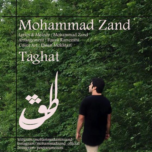 دانلود آهنگ جدید محمد زند بنام طاقت
