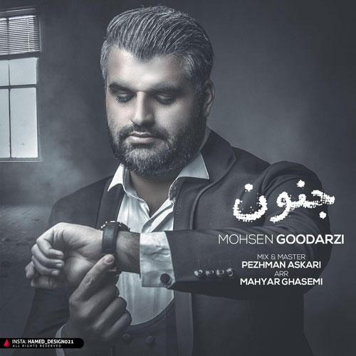 دانلود آهنگ جدید محسن گودرزی بنام جنون