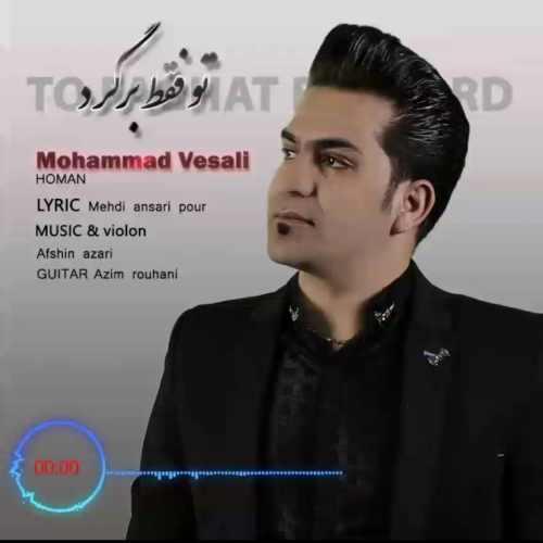 دانلود آهنگ جدید محمد وصالی بنام تو فقط برگرد