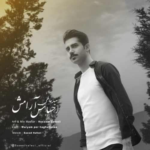 دانلود آهنگ جدید سعید حافظی بنام احساس آرامش