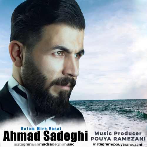 دانلود آهنگ جدید احمد صادقی بنام دلم میره واست