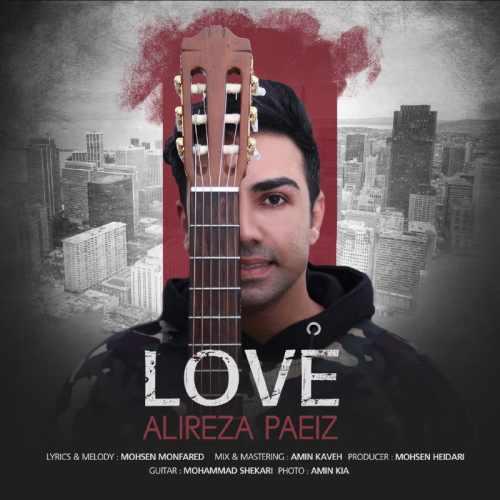 دانلود آهنگ جدید علیرضا پاییز بنام عشق