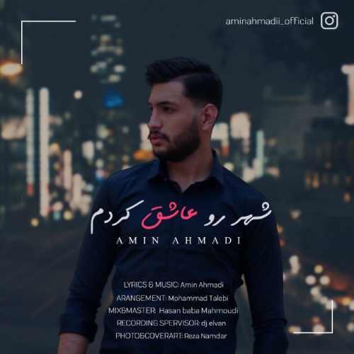 دانلود آهنگ جدید امین احمدی بنام شهر رو عاشق کردم