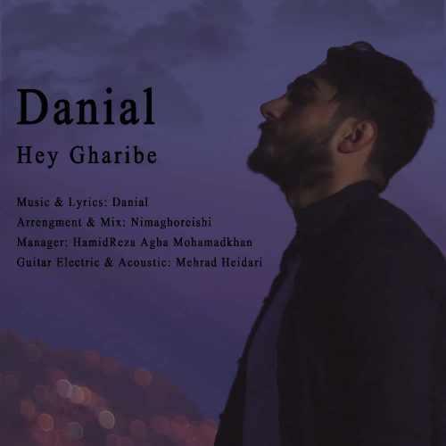 دانلود آهنگ جدید دانیال بنام هی غریبه