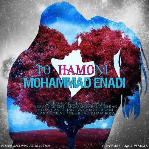دانلود آهنگ جدید محمد عنادی بنام تو همونی