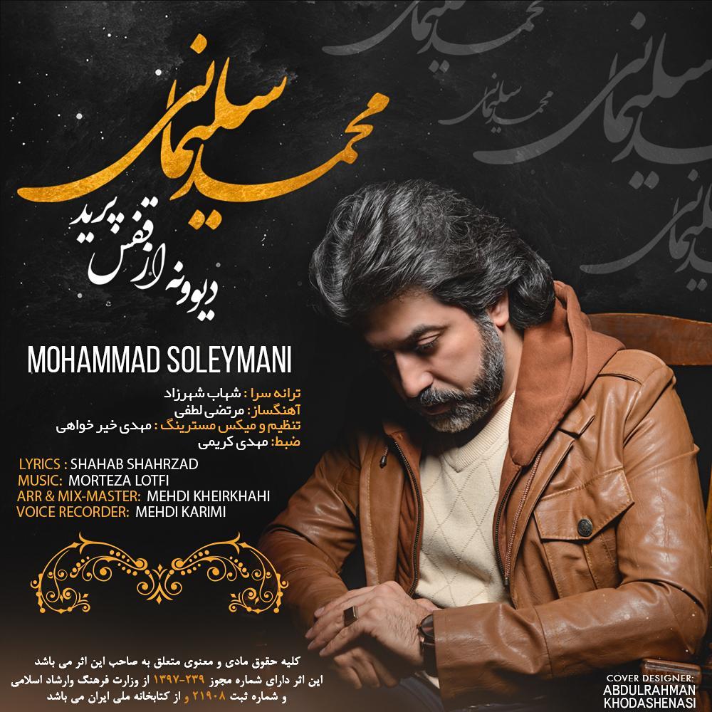 دانلود آهنگ جدید محمد سلیمانی بنام دیوونه از قفس پرید