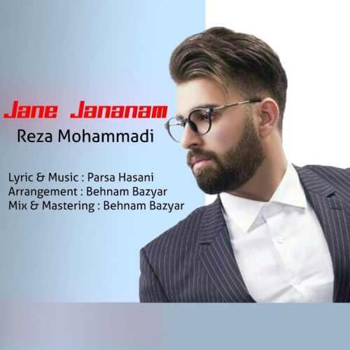 دانلود آهنگ جدید رضا محمدی بنام جان جانانم