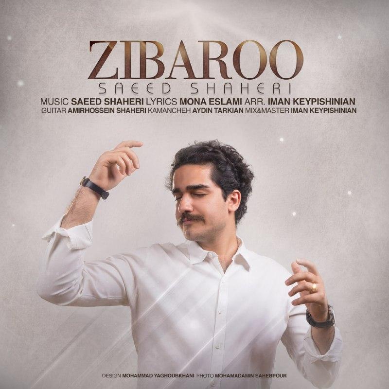 دانلود آهنگ جدید سعید شاهری بنام زیبارو