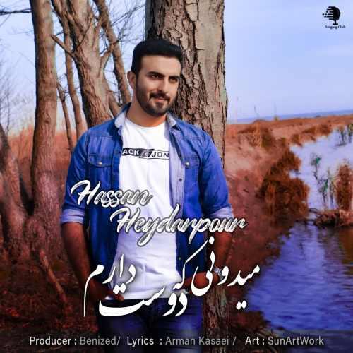 دانلود آهنگ جدید حسن حیدرپور بنام میدونی که دوست دارم