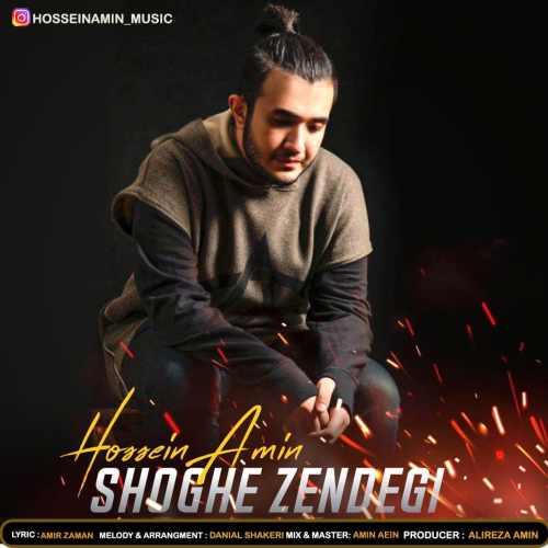 دانلود آهنگ جدید حسین امین بنام شوق زندگی