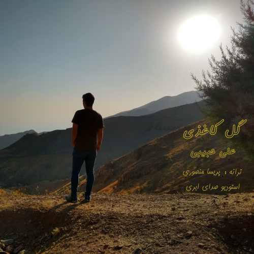 دانلود آهنگ جدید علی حبیبی بنام گل کاغذی
