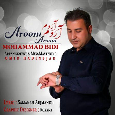 دانلود آهنگ جدید محمد بیدی بنام آروم آروم