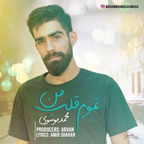 دانلود آهنگ جدید محمد موسوی بنام تموم قلب من
