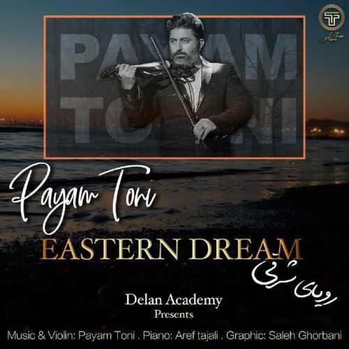 دانلود آهنگ بیکلام جدید پیام طونی بنام رویای شرقی