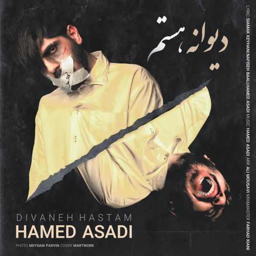دانلود آهنگ جدید حامد اسدی بنام دیوانه هستم