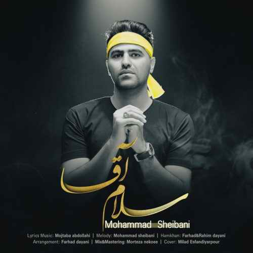 دانلود آهنگ جدید محمد شیبانی بنام سلام آقا