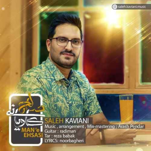 دانلود آهنگ جدید صالح کاویانی بنام منه احساسی
