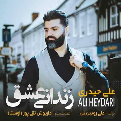 دانلود آهنگ جدید علی حیدری بنام زندانی عشق