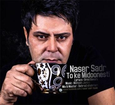 دانلود آهنگ جدید ناصر صدر به نام تو که میدونستی