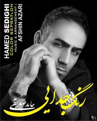دانلود آهنگ جدید حامد صدیقی به نام رنگ جدائی