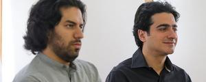 همایون شجریان و سهراب پورناظری در جشنواره فیلم فجر