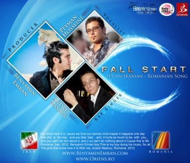 دانلود آهنگ جدید پیمان حسینی به همراه Andrei Nashuu با نام Fall Start