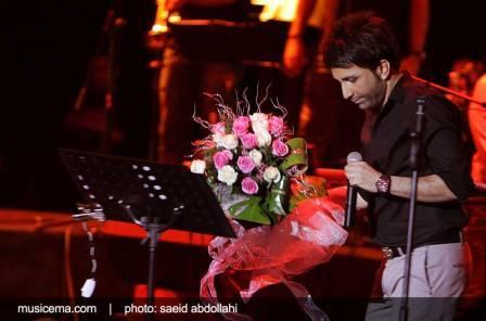 برگزاری کنسرت علی لهراسبی با حضور برخی از هنرپیشگان مشهور