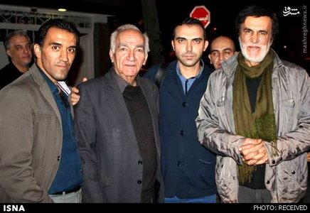 habib حبیب به دیدار خانواده مرتضی پاشایی رفت
